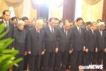 Tổng Bí thư Nguyễn Phú Trọng đến viếng, viết lời tiếc thương nguyên Thủ tướng Phan Văn Khải