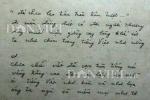 Bản thảo gốc bài thơ 'Tiếng Việt' của Lưu Quang Vũ: Chính xác là 'Ôi tiếng việt như bùn và như lụa'