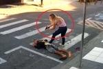 Clip: Cướp cầm súng xông vào trường học, bị nữ phụ huynh rút súng bắn chết
