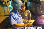 Thanh tra giao thông xử lý vi phạm tại điểm đen tai nạn ở TP.HCM