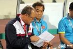 HLV Park Hang Seo thở phào: 'May là tuyển Việt Nam có điểm'