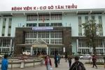 Bảo vệ Bệnh viện K Tân Triều hành hung người nhà bệnh nhân bị đình chỉ công tác