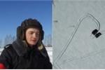 Clip: Binh sĩ Nga vẽ trái tim trên tuyết trắng bằng xe tăng chúc mừng 8/3