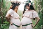 Bộ ảnh bầu bí của cặp chị em gần sát ngày sinh gây 'sốt' dân mạng