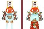 Thiết kế 'Bàn thờ' cho quốc phục Việt Nam tại Miss Universe 2019 gây tranh cãi