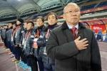 HLV Park Hang Seo và 2 lần đặt tay lên trái tim