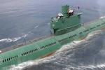 Triều Tiên đóng tàu ngầm lớn để thử tên lửa đạn đạo