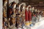 Bí ẩn 100 pho tượng đất ngàn năm, không thể phá hủy ở Hưng Yên