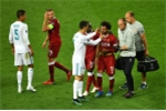 Salah đau đớn rơi nước mắt rời sân, Ronaldo đến bên an ủi