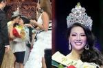 Tân Hoa hậu Trái đất 2018 Phương Khánh ôm mẹ khóc nức nở sau đăng quang