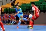 Futsal Sanna Khánh Hòa đánh rơi chiến thắng trận ra quân