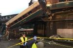 Ảnh, video: Tàu hỏa ở Mỹ trật bánh, hàng chục người thương vong