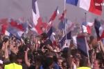 Video, hình ảnh: Paris 'rung chuyển' mừng tuyển Pháp vô địch World Cup 2018
