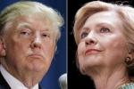 Bầu cử tổng thống Mỹ: Trump và Clinton đối lập nhau sâu sắc thế nào?