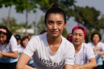 Tiêu Châu Như Quỳnh hào hứng nhảy tập thể cùng 100 bệnh nhân ung thư