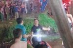 Nam thanh niên rơi xuống sông chết đuối khi xem hầu đồng ở Lễ hội Hòn Chén