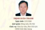 Infographic: Con đường công danh 'ngoạn mục' của ông Trịnh Xuân Thanh