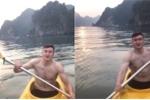 Video: Lỡ hẹn với ASIAD, Đặng Văn Lâm thảnh thơi ca hát, khoe bụng 6 múi