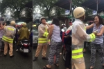 Video: Chạy ô tô lấn làn, nữ tài xế liên tục lăng mạ, bắt CSGT xin lỗi
