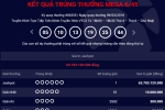 Kết quả xổ số Vietlott ngày 9/3: Giải thưởng gần 64 tỷ đồng tìm được chủ nhân
