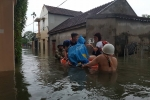 Nghệ An di dời hơn 4.000 dân vùng lũ đến nơi an toàn