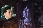 Khu vực xung quanh quán ăn của Trường Giang xuất hiện nhiều poster hình Nam Em