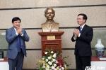 Khánh thành tượng Tổng biên tập đầu tiên của Đài Tiếng nói Việt Nam