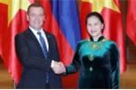 Thủ tướng Medvedev hội kiến Chủ tịch Quốc hội Nguyễn Thị Kim Ngân