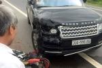 Ô tô Range Rover tông xe máy, 2 vợ chồng thương vong ở Hưng Yên