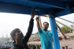 Tàu ngư dân Quảng Ngãi tố bị tàu nước ngoài tấn công ở Hoàng Sa