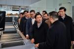 Ảnh: Bộ trưởng Nguyễn Văn Thể thị sát Sân bay Quốc tế Vân Đồn trước giờ cất cánh