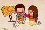Bộ tranh ngộ nghĩnh về tình yêu sinh viên mùa Valentine 2015
