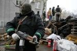 Ảnh: Các lực lượng giao tranh ở miền Đông Ukraine