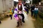 Clip: Rước dâu bằng xe đạp cà tàng, cô dâu đi dép lê