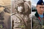 Báo Anh tung ảnh, đặt nghi vấn Tổng thống Putin bất tử 100 năm qua