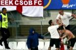 EURO 2016: CĐV quá khích Nga 'được huấn luyện để đánh nhau'