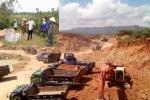 Nguy cơ sạt lở hàng chục ngôi mộ do khai thác đất ở Hà Tĩnh: UBND tỉnh chỉ đạo làm rõ