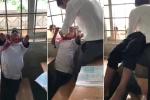 Clip: Thầy giáo vùng cao giải cứu học trò nghịch dại, kẹt đầu vào song sắt