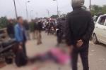 Hai bé gái bị ô tô chở công nhân cán chết thương tâm ở Thái Nguyên