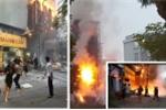 Cô gái cầm áo ngực bịt mũi chạy khỏi đám cháy kể lại giây phút cận kề sinh tử