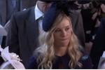 Biểu cảm khó tả của bạn gái cũ Hoàng tử Harry trong đám cưới Hoàng gia Anh