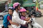 Sau ly hon, Hong Nhung thuong xuyen dua con di hoc bang xe may hinh anh 6