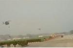 Video: Đứt dây leo, 3 binh sỹ Ấn Độ rơi khỏi trực thăng