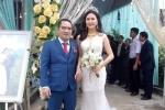 Sau 2 tháng xuống tóc đi tu, người đẹp Hoa hậu Việt Nam bỗng cưới đại gia