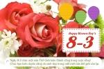 Lời chúc 8/3 hay dành tặng những người phụ nữ thân yêu xung quanh bạn