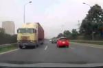 Container chạy ngược chiều kiểu 'giết người' trên Đại lộ Thăng Long: Truy tìm để xử lý