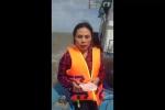 Chìm tàu chở 13 người trên biển Cửa Lò: Thông tin mới nhất từ hiện trường