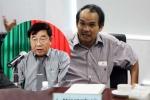 Trưởng ban trọng tài Nguyễn Văn Mùi mỉa mai, chỉ trích bầu Đức