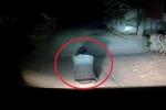 Clip: Người đàn ông ngồi giữa đường lúc 2 rưỡi sáng khiến tài xế ô tô hú vía