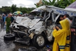 Hai xe khách đối đầu, 4 người chết ở Kon Tum: 17 y, bác sĩ nghi ngờ phơi nhiễm HIV